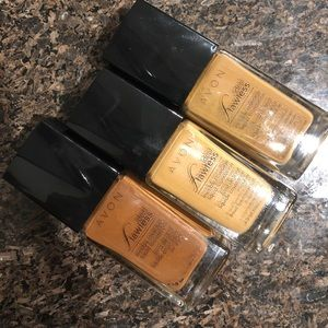 Avon ideal flawless foundations